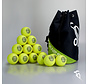 Combideal 24 Dimple Standard Hockeyballs Yellow with Ballbag