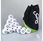 Combideal 24 Dimple Vision Hockeyballen Wit met Ballentas