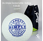 Combideal 24 Dimple Standard Hockeyballs White with Ballbag