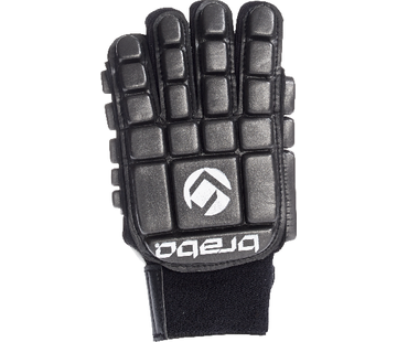 Brabo Foam Glove F3 Full Finger Linkerhand Zwart