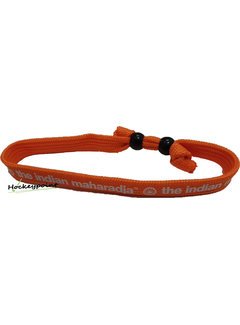 Indian Maharadja Armband Weiß / Orange