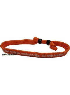 Indian Maharadja Armbandje – Wit/Oranje