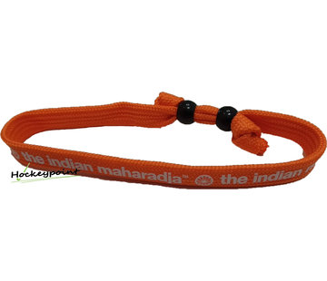 Indian Maharadja Armband Weiß / Orange