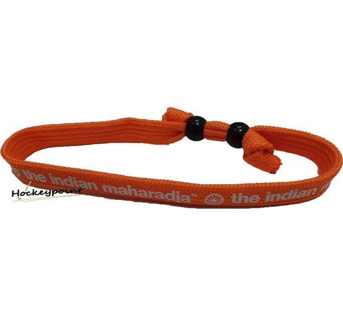 Indian Maharadja Bracelet White / Orange