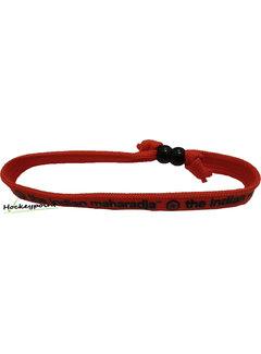 Indian Maharadja Armband Schwarz / Rot