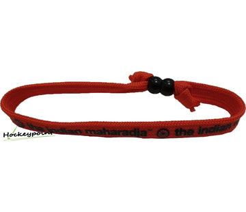 Indian Maharadja Armbandje – Zwart/Rood