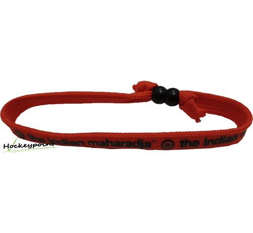Indian Maharadja Bracelet Zwart/Rood