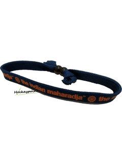 Indian Maharadja Bracelet Orange/Navy
