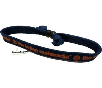 Indian Maharadja Armbandje – Oranje/Navy