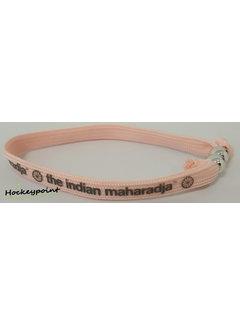 Indian Maharadja Bracelet Grijs/Roze