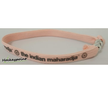 Indian Maharadja Armband Grau / Rosa