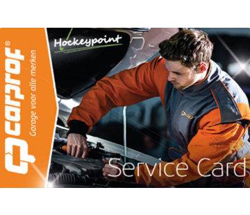 Hockeypoint Carprof 24/7 SERVICE CARD NUR FÜR DEN HOLLÄNDISCHEN MARKT