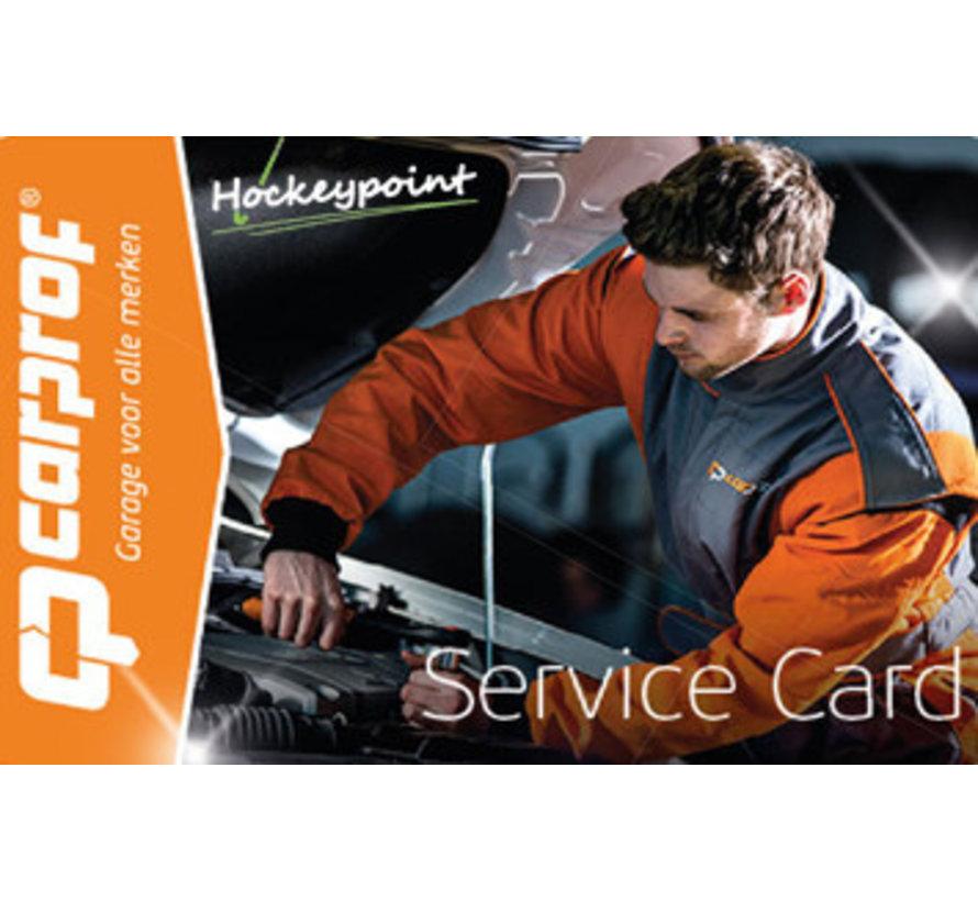 Carprof 24/7 SERVICE CARD NUR FÜR DEN HOLLÄNDISCHEN MARKT