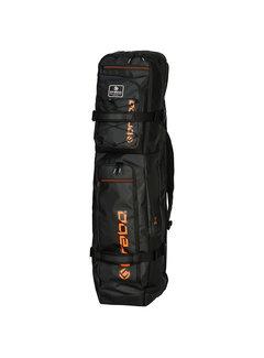 Brabo Stickbag Elite Zwart/Oranje 19/20
