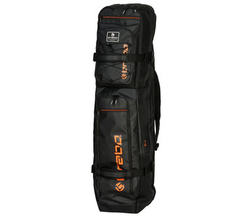 Brabo Stickbag Elite Zwart/Oranje 19/20