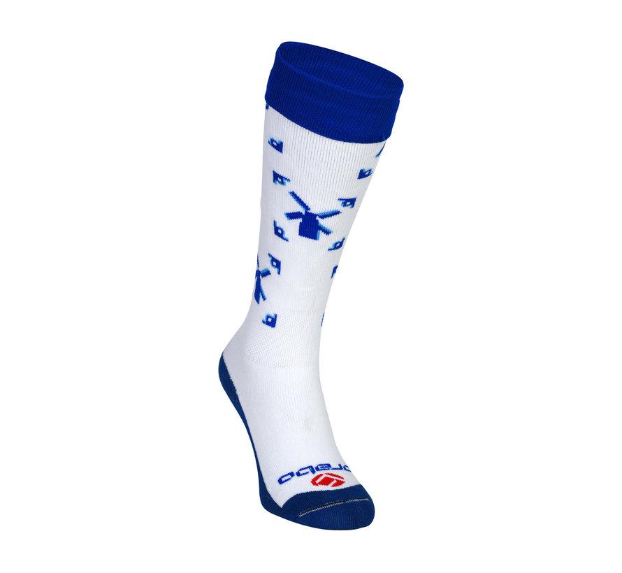 Socken Delfsblauw