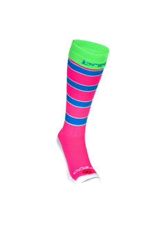 Brabo Socks Rugby Pink/Blue