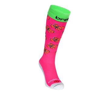 Brabo Socks Fishes Pink/Orange