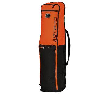 Brabo Stickbag Team TC Zwart/Oranje 19/20
