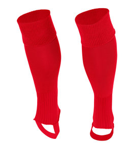 Stanno Socken ohne Fuss Uni Rot