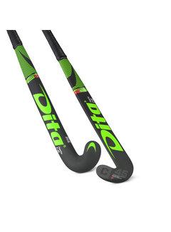 Dita FiberTec C45 L-Bow Fluo Groen/Zwart