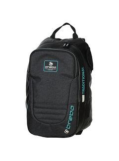 Brabo Backpack Traditional Junior Zwart/Mint 19/20
