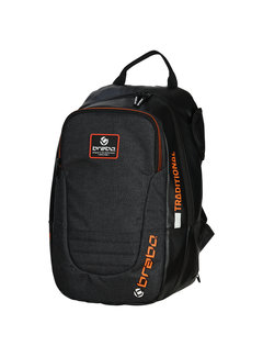 Brabo Backpack Traditional Senior Zwart/Oranje 19/20