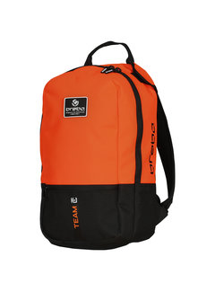 Brabo Backpack Team TC Junior Zwart/Oranje 19/20