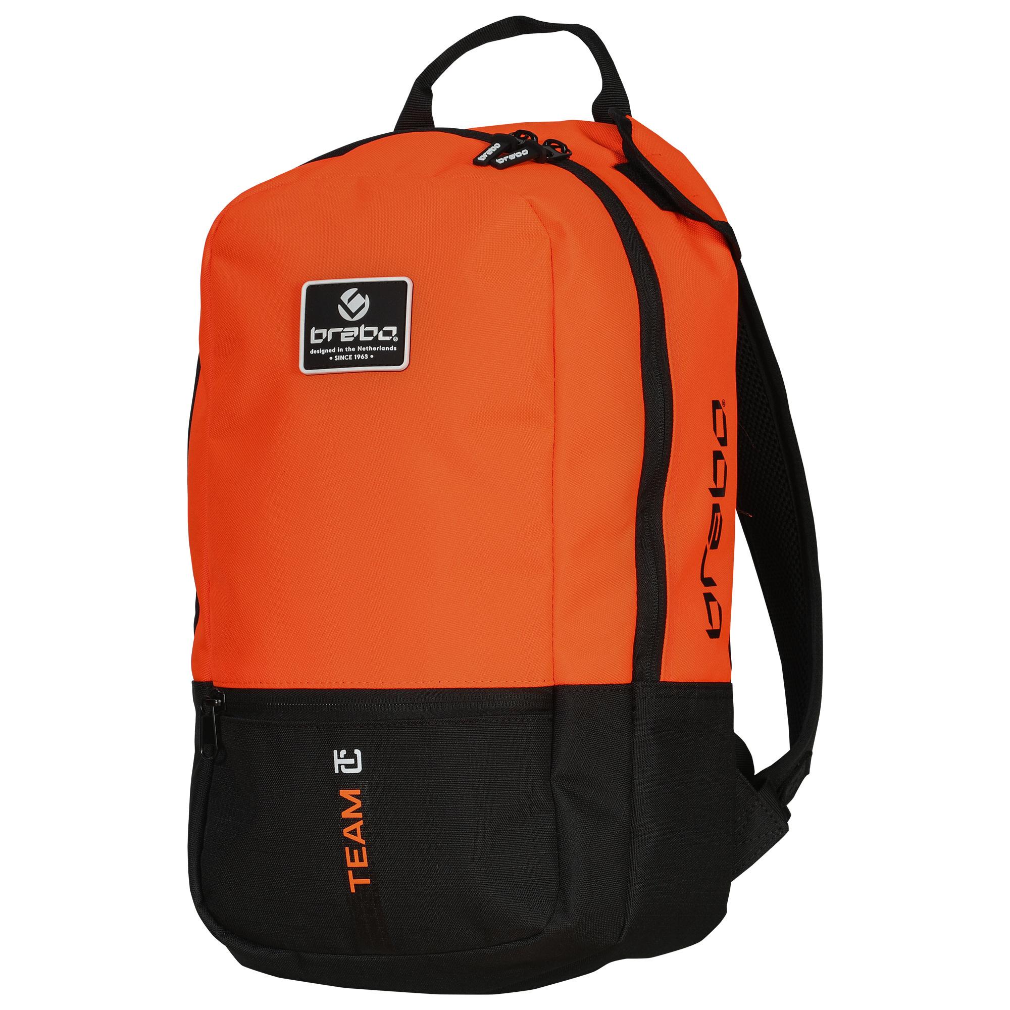 b5b0208bb5f2c1 Brabo Backpack Team TC Junior Zwart/Oranje 19/20 kopen? - Hockeypoint