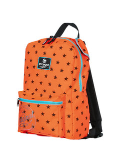 Brabo Backpack Original Stars Orange / Black