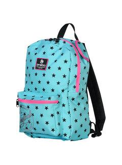 Brabo Backpack Original Stars Mint/Pink