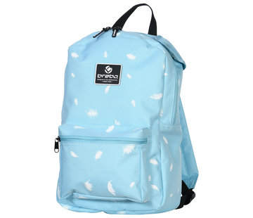 Brabo Backpack Storm Feathers Lichtblauw