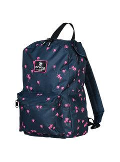 Brabo Backpack Storm Palms Navy/Roze