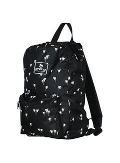 Brabo Backpack Storm Palms Zwart/Wit
