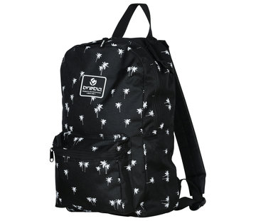 Brabo Backpack Storm Palms Zwart/Wit