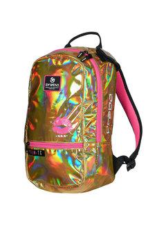 Brabo Backpack Mirror Kiss Grey/Orange