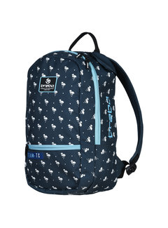 Brabo Backpack Flamingo Blue/White
