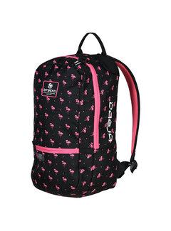 Brabo Rucksack Flamingo Schwarz/Pink
