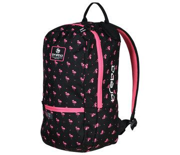 Brabo Backpack Flamingo Black/Pink