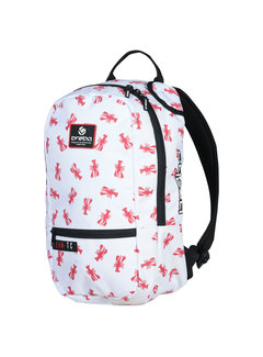 Brabo Rucksack Lobster Weiss/Rot