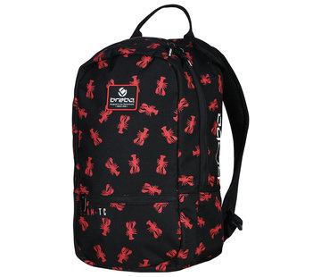 Brabo Backpack Lobster Black/Red