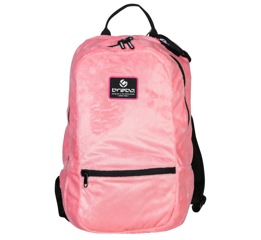 Backpack Pure Flamingo (Fur)