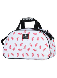 Brabo Shoulderbag Lobster Weiss/Rot