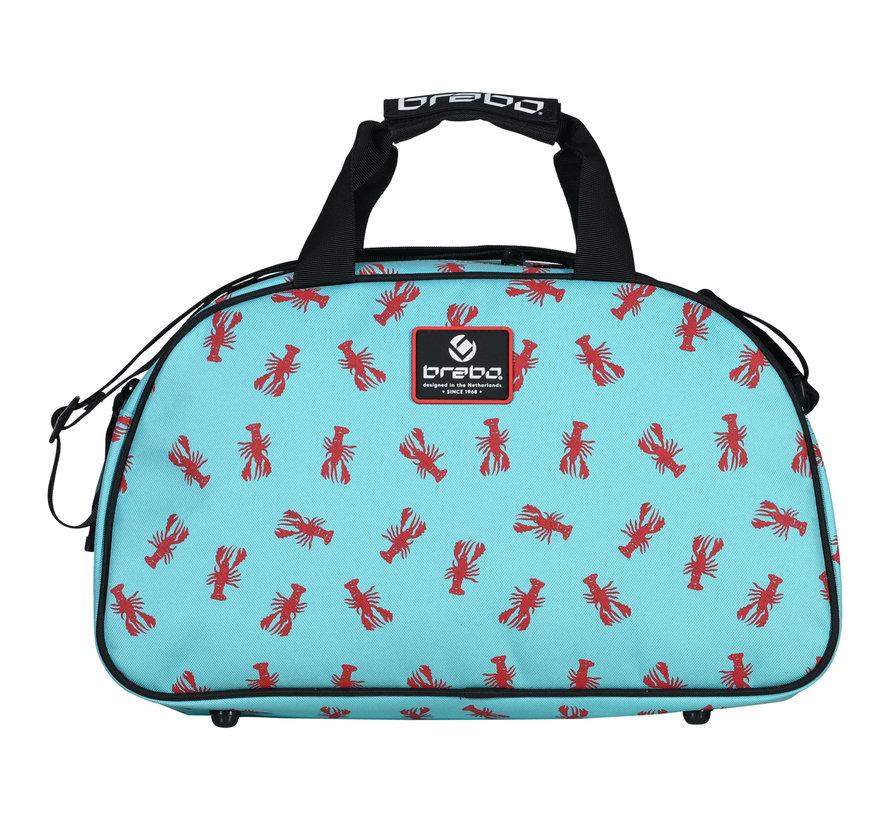 Shoulderbag Lobster Mint/Rood