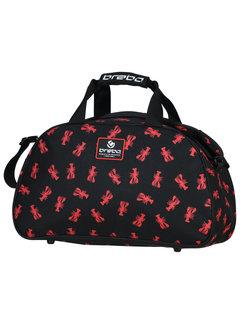 Brabo Shoulderbag Lobster Schwarz/Rot
