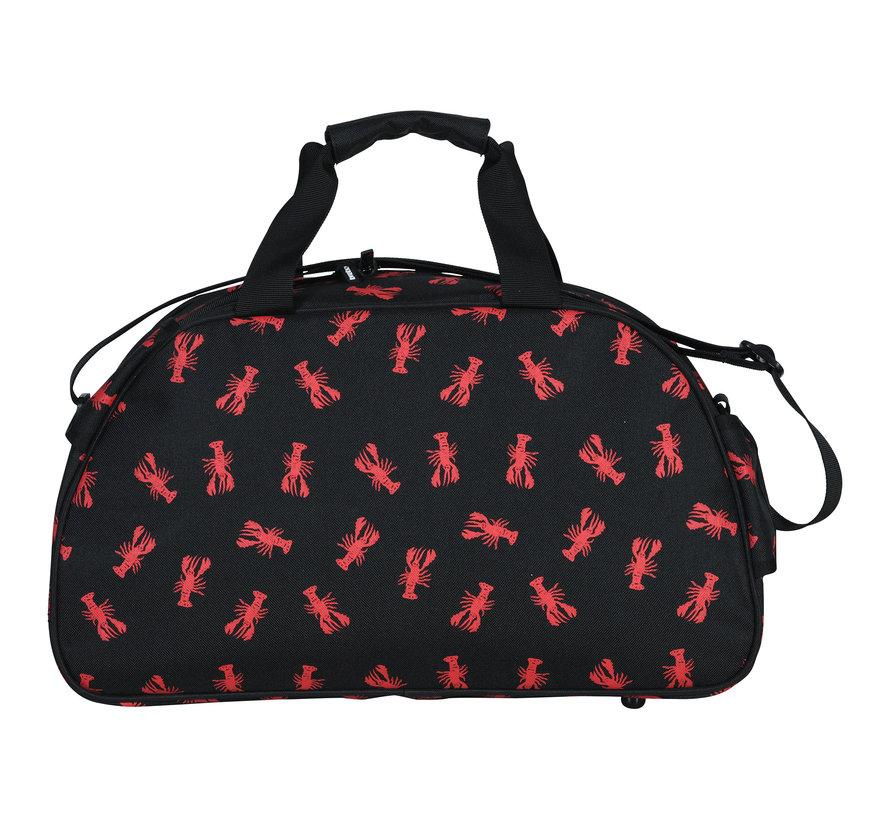 Shoulderbag Lobster Zwart/Rood