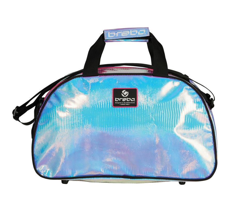 Shoulderbag Pearlcent Pink/Blue