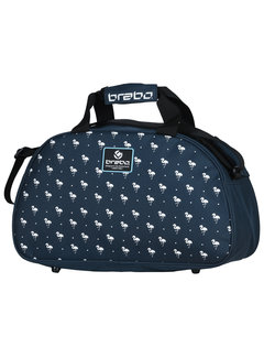 Brabo Shoulderbag Flamingo Blauw