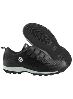 Brabo Hockey shoes velcro Black