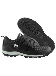 Brabo Hockeyshoes Velcro Black
